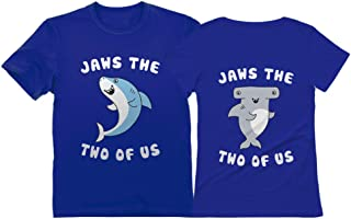 Jaws The Two of Us for Him & Her Matching Couples T-Shirts