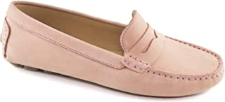 Women's Leather Made in Brazil Naples Loafer Driving Style