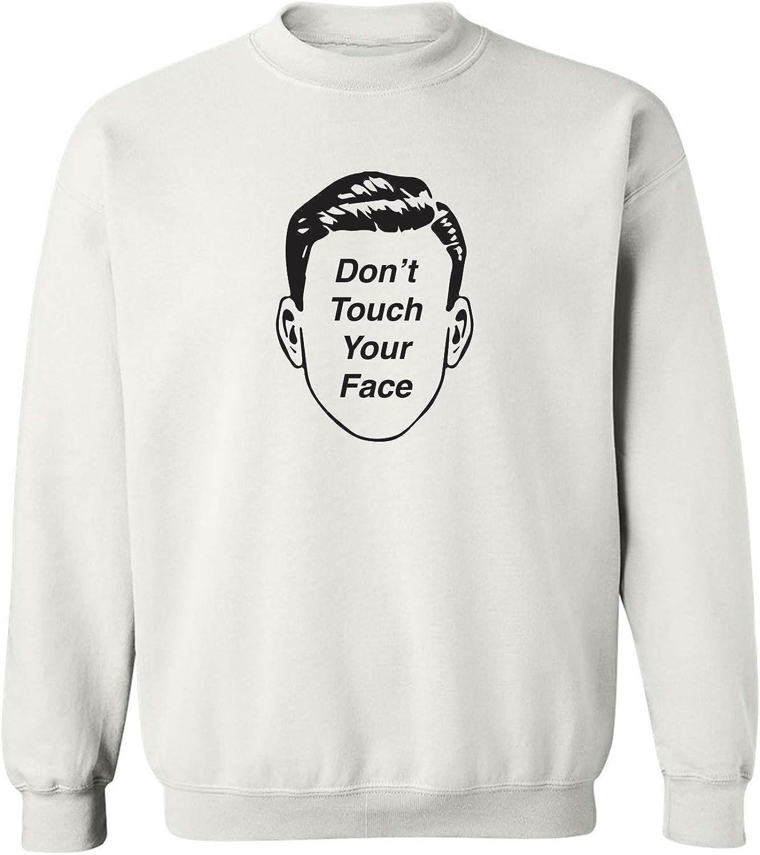 Don't Touch Your Face Crewneck Sweatshirt