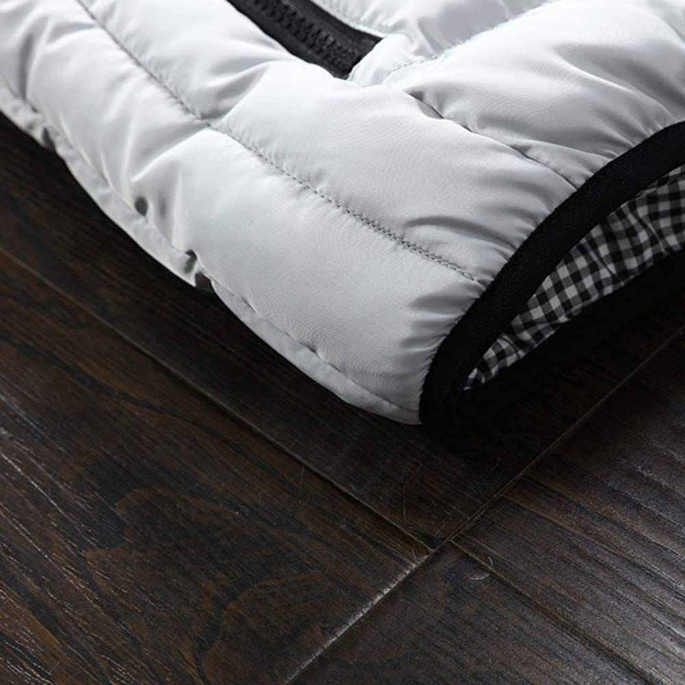 Down Jacket Vest for Men, NRUTUP Down Jacket Vest for Hiking Mountain, Puffer Jacket Vest Lightweight Winter Jacket Vest