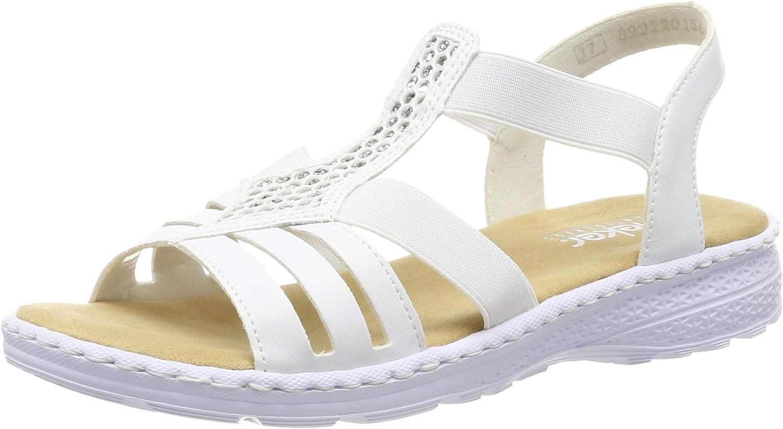 Fashion Rieker Women's Max 59% OFF Closed Toe Sandals