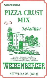 Weisenberger Pizza Crust Mix, 6.5 Ounce – Premade Pizza Dough Flour for Homemade..