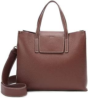 Women's Fashion New Leather Bag Multi-Functiona Large Capacity Crossbody Bag Ladies Handbag Shoulder Tote Bag(FM),C