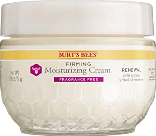 Burt's Bees Renewal Firming and Moisturizing Cream, Fragrance Free - 1.8 Ounces