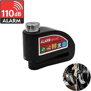 MASO Motorcycle Motion Sensor Alarm Disc Lock Motorbike bike Padlock-Black
