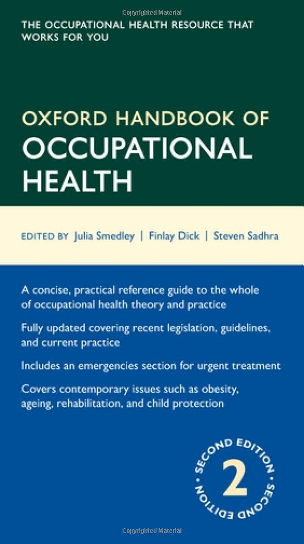Image OfOxford Handbook Of Occupational Health