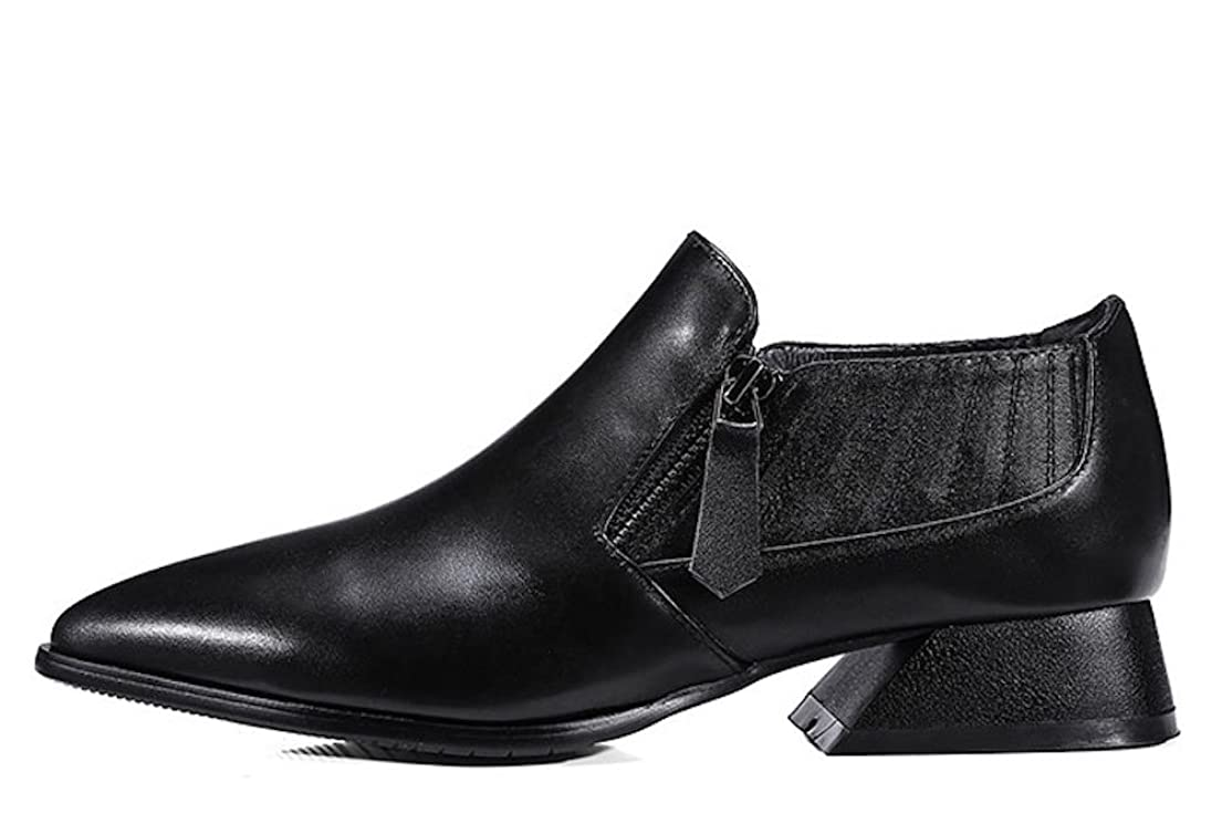 エクスタシー不合格結紮[ノーブランド品] ウォーキングシューズ ブーツ レディース 本革 レザー ビジネスシューズ 革靴 軽量 カジュアル