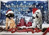 Alfavet Adventskalender für Hunde- Lecker gesunde Snacks ohne Zusatzstoffe und Weizen. Glutenfrei, 0.175 kg