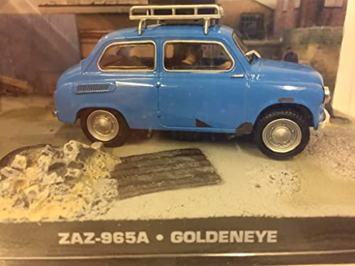 007 James Bond Car Collection  36 ZAZ-965 A (GoldenEye)