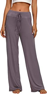 TIKTIK Women's Modal Sleep Bottoms Comfy Pajama Lounge Pants S-4XL