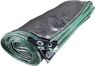LIXIONG dekzeil voor buiten, transparant, stofdicht, waterdicht PVC voorruit van PVC, 16 maten (kleur: helder, grootte: 1....