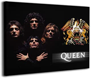 Queen Band Wall Art Canvas Painting Beauty Decorative Painting Corridor Wall Painting Simple Framed Ready To Hang 16