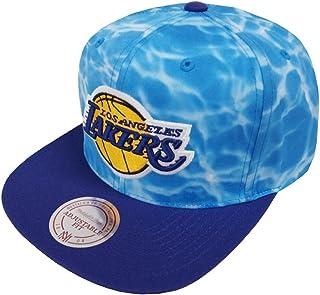 new styles fe0c4 2ce50 Mitchell   Ness Los Angeles Lakers Surf Camo VF55Z Snapback Cap Kappe  Basecap