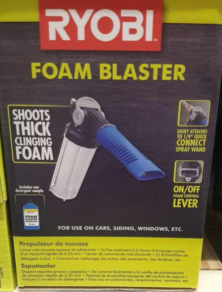 Ryobi Pressure Washer Max 72% OFF Blaster Foam free