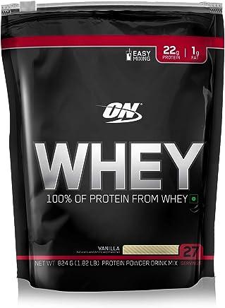 100% On Whey Protein 824g - Optimum Nutrition - Baunilha