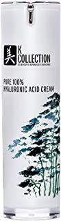 Pure Hyaluronic Acid Cream for Face | Professional Grade | Korean Inspired Skincare | May Help Smooth the Appearance of Wrinkles & Brightens for More Youthful-Looking Skin |1 fl oz