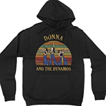 Donna and The Dynamos Vintage Hoodie Long Sleeve Shirt Mamma Mia