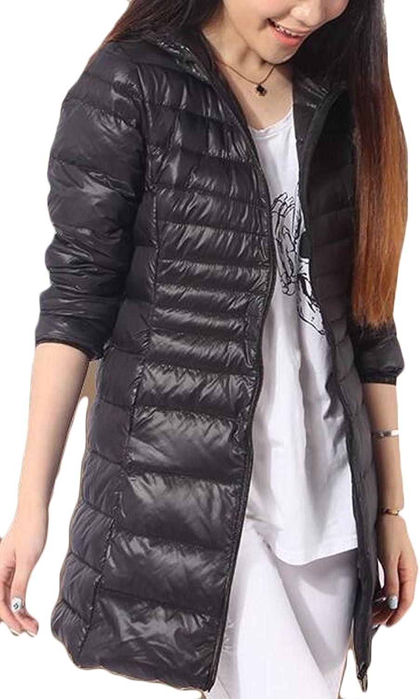 Gocgt Women's Packable Warm Long Parka Puffer Down Jackets