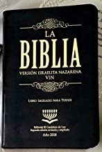 Biblia Israelita Nazarena Nueva Edicion 2018 Español