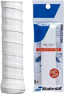 バボラ (Babolat) テニス用オーバーグリップ PRO TOUR (プロツアー) JP ホワイト 長さ115cm 厚さ0.6mm 651016