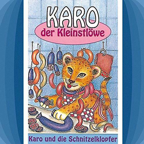 Karo und die Schnitzelklopfer     Karo der Kleinstlöwe 2              By:                                                                                                                                 Gertrud Schmalenbach,                                                                                        Helmut Jost                               Narrated by:                                                                                                                                 Rainer Domke,                                                                                        Jana Bernhardsgrütter,                                                                                        Kathy Arndt,                   and others                 Length: 35 mins     Not rated yet     Overall 0.0