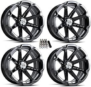 MSA M12 Diesel UTV Wheels/Rims Black 14