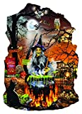 Witch's Brew Shaped 1000 Piece Jigsaw Puzzle by SunsOut - Halloween Theme Puzzle