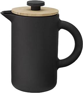 Stelton x-636 – Kaffebryggare, pressfilterkanna – Theo – 0,8 liter – keramik – svart