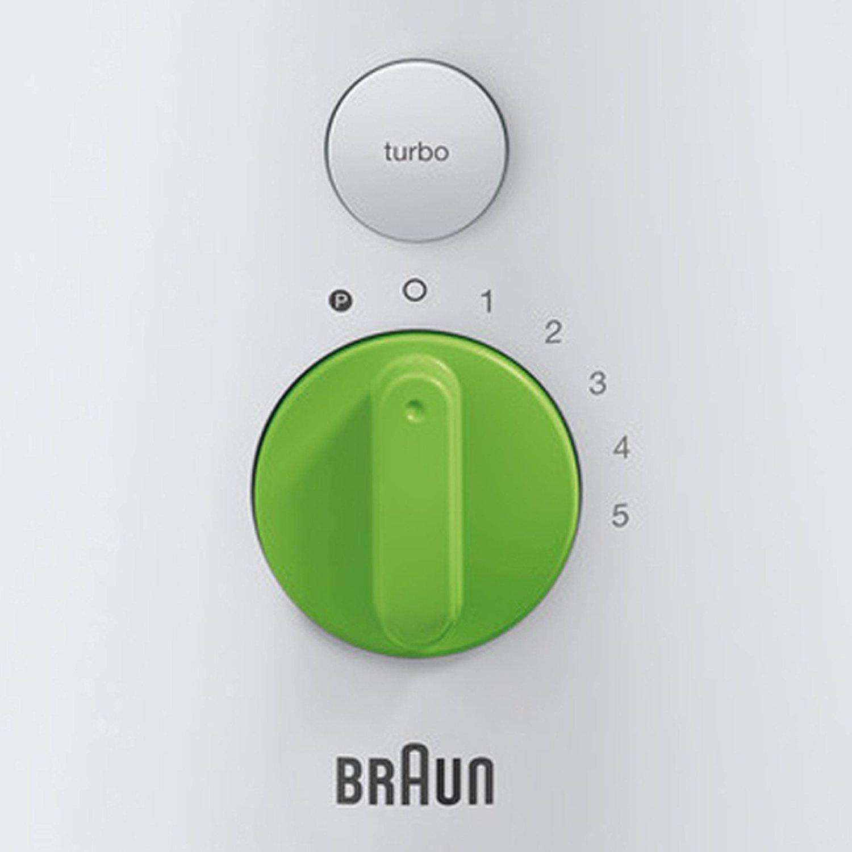 Braun JB 3060 JB3060WH - Batidora de vaso, cristal, 1, 75 l, color ...