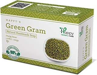 Happy Herbal Care Green Gram Natural Soap 75G