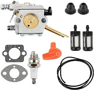 Hilom WT-45 WT-45-1 WT-45A Carburetor Turn Up Kit for STIHL FS48 FS52 FS62 FS66 FS81 FS86 FS88 FS106 String Trimmer BR400 Backpack Blower Replace 4126 120 0600 4126 120 0610