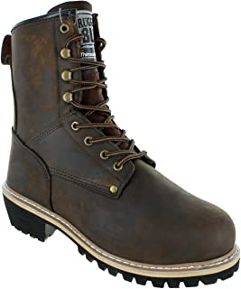 Best logger boots on feet Reviews