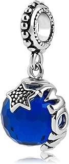 Charmed Craft Mom Charm Jewelry Jan-Dec Birthstone Swarovski Elements Crystal Beads For Charm Bracelets