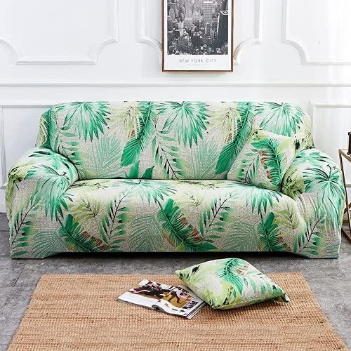 FENFANGAN Sofaüberwurf Für Ledersofa, Universal Elastischer Sofabezug,All-Inclusive, Für Wohnzimmer Sofa Protector, Produzieren Wirtschaftliche Und Schöne Effekte (A03,1-Seater 90-130cm)