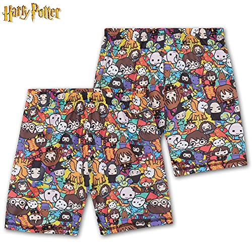 HARRY POTTER Pijama Niño, Pijamas Niños De Manga Corta, Regalos para Niño De 7-14 Años (Multicolor, 9-10 años, 9_Years)