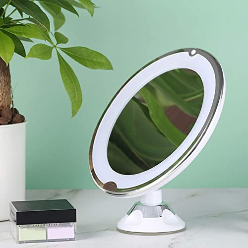 high quality 10X Magnifying Makeup Vanity Mirror with Lights, Natural LED Daylight Touch Screen Control Switch, 360 Degree Rotation new arrival Powerful Suction Cup, Makeup Mirrors for Home Tabletop online sale Bathroom outlet online sale