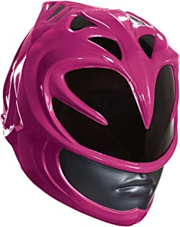 Disguise Women's Pink Ranger Movie Adult Helmet