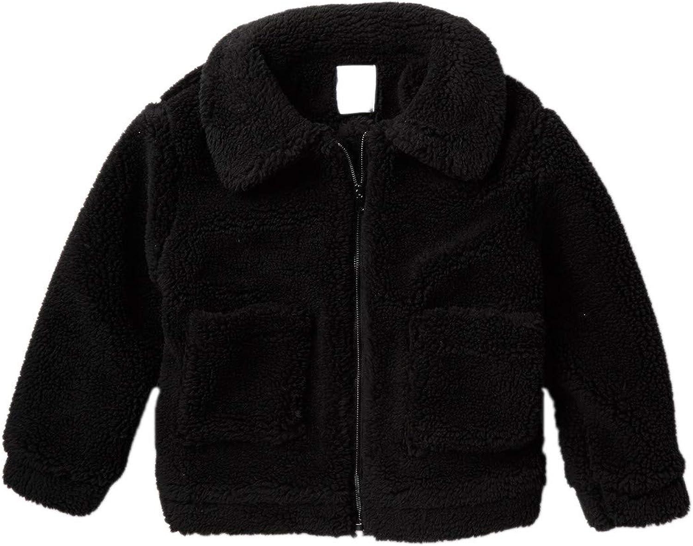 Elodie Kids Wubby Teddy Bear Full Zip Jacket Winter Casual Unisex Outwear