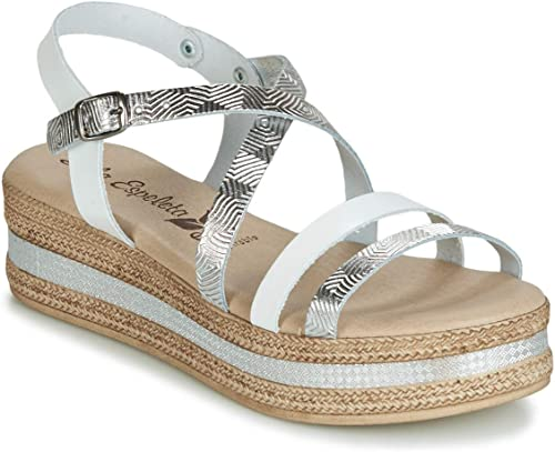 Lola EspÃleta RAPHA Sandalen Sandalen Sandalen Sandaletten Damen Silbern Sandalen Sandaletten  sehr berühmt