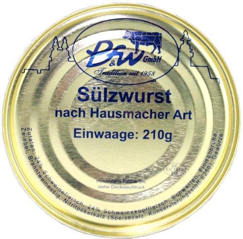 Pegauer Sülzwurst nach Hausmacher Art, nach Original sächsischer Rezeptur, Traditon seit 1958,...
