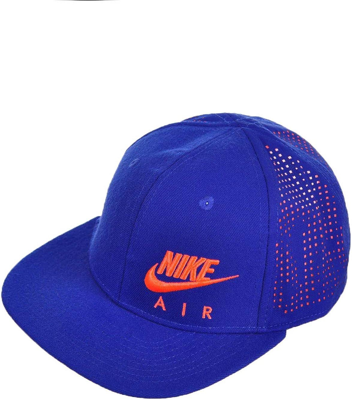 Parlamento Censo nacional Solicitud  Amazon.com: Nike Air Boy's Hybrid True Snapback Mesh Back Hat Cap Headwear  Royal Blue: Clothing