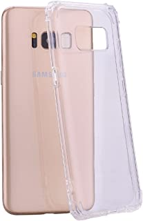Galaxy S8 Plus Case, AUSURE [New Pattern] Crystal Clear Case Ultra Soft Silicone Cover TPU Rubber Gel Transparent Clear Back Premium Shockproof Case for Samsung Galaxy S8 Plus (2017) (Clear)
