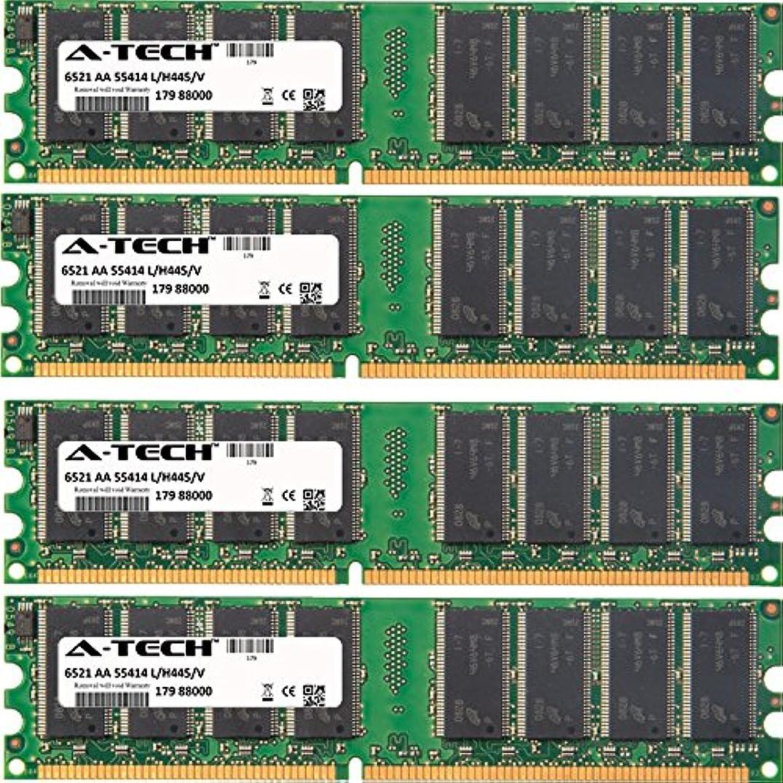 4GB KIT (4 x 1GB) for Asus A8 Series A8AE-LE (Amberine). DIMM DDR Non-ECC PC3200 400MHz RAM Memory. Genuine A-Tech Brand.