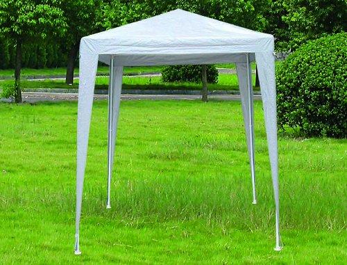Marko Outdoor 2M x 2M White PE Gazebo Marquee Shelter Garden Outdoor Patio Party Cover