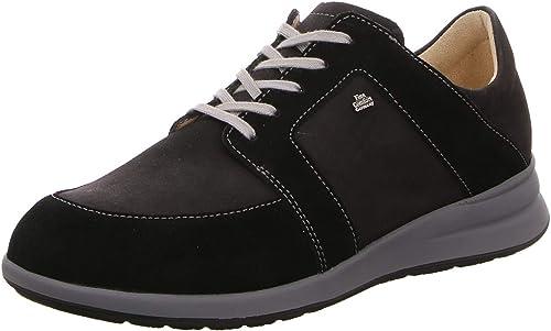 Finn Comfort , Chaussures de Ville à Lacets pour Femme Noir Noir 36.5 EU