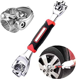 Outil universel multi-usages – Clé anglaise 48 en 1 pivotante pour tous types d'utilisations – Outil pour vélo, trottinett...