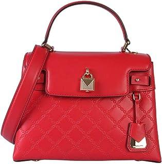 Borsa Spalla Donna MICHAEL KORS 30H9GM5T2L Bright Red Mae Pelle Rossa