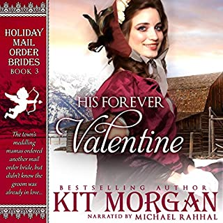 His Forever Valentine audiobook cover art