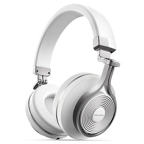 Bluedio T3 (Turbine 3ème) Casque Bluetooth 4.1 stéréo sans fil Basse puissante (Blanc)