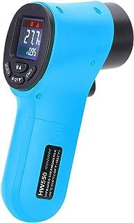 mewmewcat Termômetro infravermelho portátil sem contato digital pirômetro aquário termômetro LCD termômetro industrial ext...